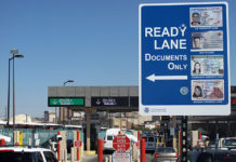 Processing in CBP Ready Lanes is 20 percent faster than normal lanes and provide a time savings of up to 20 seconds per vehicle.