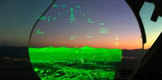 The Elbit Systems ClearVision Enhanced Flight Vision (FalconEye Falcon 8X Image courtesy of Dassault).