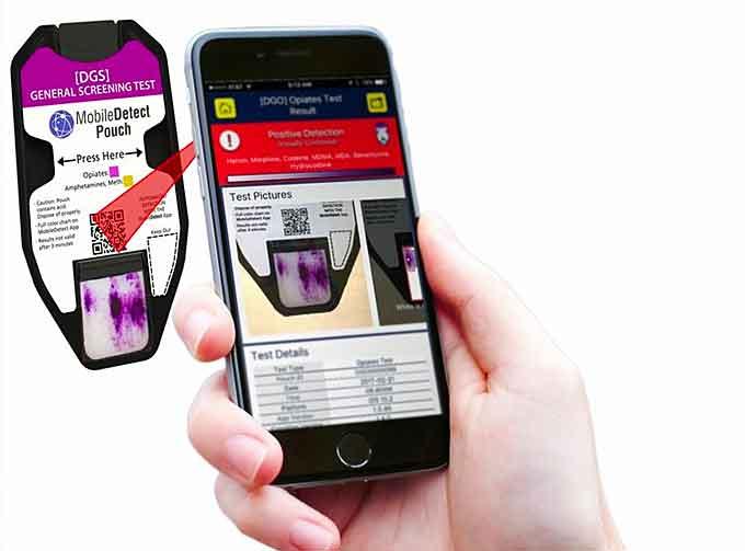 MobileDetect for Drug Detection on Smartphones (See in