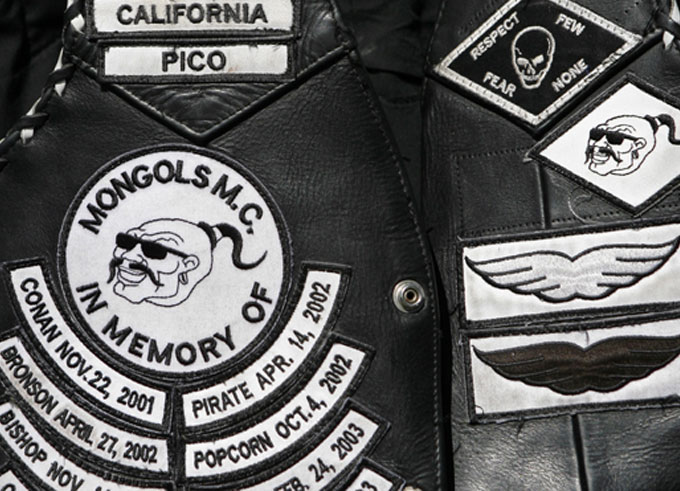 Mongols Biker Gang Indicted on Murder & Racketeering Charges