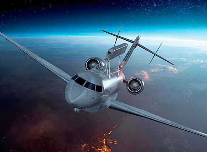 GlobalEye is an advanced, swing role airborne surveillance system based on a Global 6000 jet aircraft from Bombardier, which has undergone a thorough modification program to adapt it for its role.