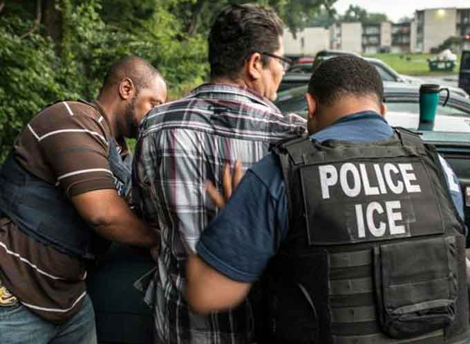 The HRVWCC uses a variety of sources and methods to identify human rights abusers living in the United States or attempting to enter the United States. (Courtesy of ICE)