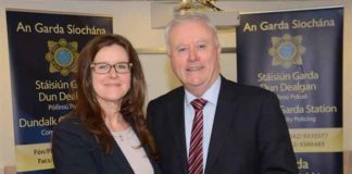 Acting Deputy EAD Alysa Erich and Acting Commissioner Dónall Ó Cualáin (Image courtesy of ICE)
