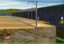 Senstar's layered fence-mounted and buried systems combine into a comprehensive security solution was key to this project, it was also their differences that make this multi-layer solution a success.