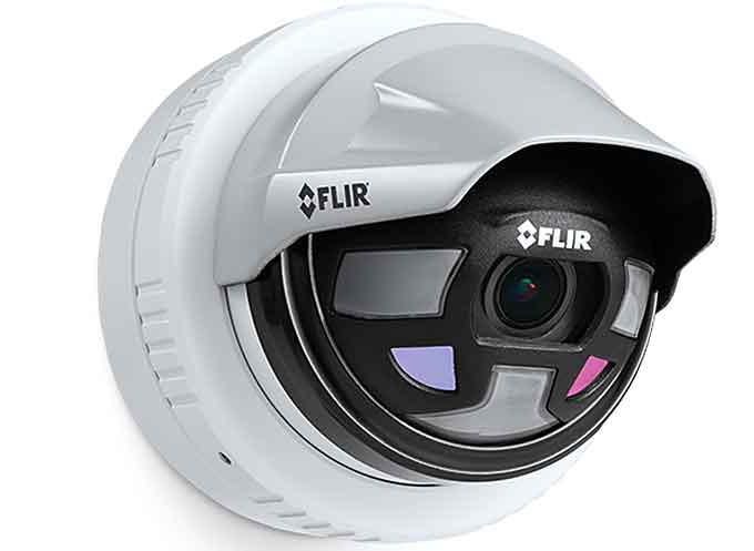 FLIR Saros™ Multi-Spectral Intrusion Solution