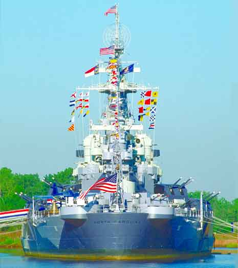 Courtesy of Battleship North Carolina