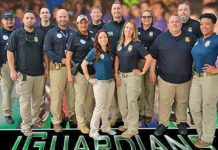 Members of the HSI San Juan's Child Exploitation Group reached out to more than 1,000 students in Guaynabo, Puerto Rico during the 2018 HSI San Juan iGuardian summit.