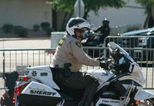 Pima County Sheriff's motorcycle Deputy Jose Velasco (Courtesy of the Pima County Sheriff's Dept and Twitter)