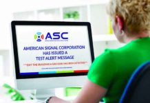American Signal Corporation (ASC) answers the call for preparedness with their ASC AWARE notification system, ensuring any internet-enabled device connected to your server is ready to receive notice of a threat if or when one arises.