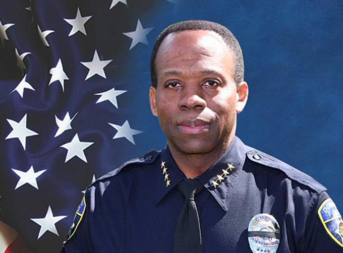 Downey Police Chief Carl Charles