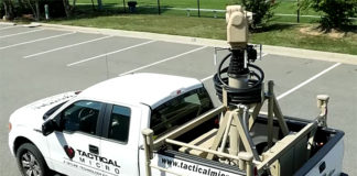 The Eagle MVSS from Tactical Micro, featuring PureActiv Video Analytics from PureTech, consists of a complete mobile surveillance platform to aid US Border Patrol agents to track and identify Items of Interest (IOI) along the US southwest border.