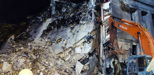 What followed the 9/11 Terror Attacks would become the largest investigation in FBI history, code-named PENTTBOM. The attack and crash sites were also the largest crime scenes in the Bureau's history. (Courtesy of the FBI)