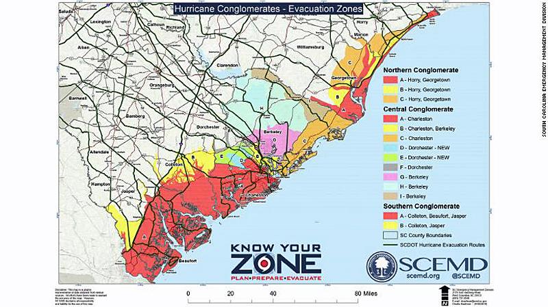 Courtesy of the South Carolina Emergency Management Division