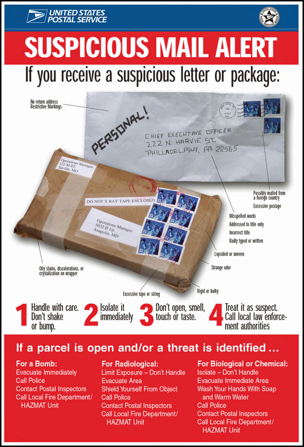 Courtesy of the USPS
