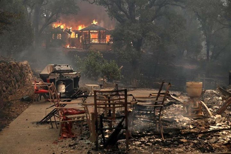 Courtesy of Sonoma County Fire Relief on GoFundMe
