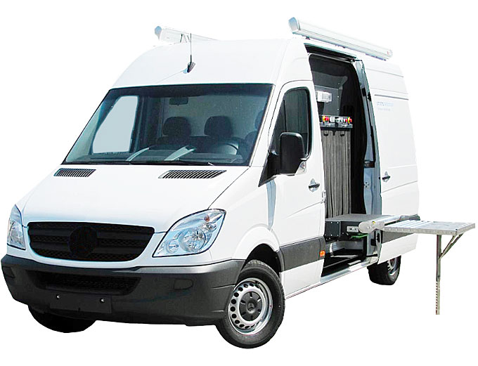 ScanVan, Mobile X-ray inspection system