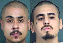 Hugo Villanueva-Morales, 29, (at left), and Javier Alatorre, 23, (Courtesy of the Kansas City, Kansas, Police Department)