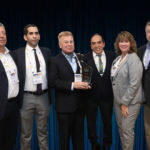 ATI Systems accepting the company's 2019 Platinum Award for Extraordinary Leadership and Innovation in Homeland Security