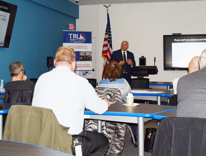 True Security Designs law enforcement training programs are centered around supporting today's modern professionals' by teaching them vital skills through courses designed to engage and empower its participants.