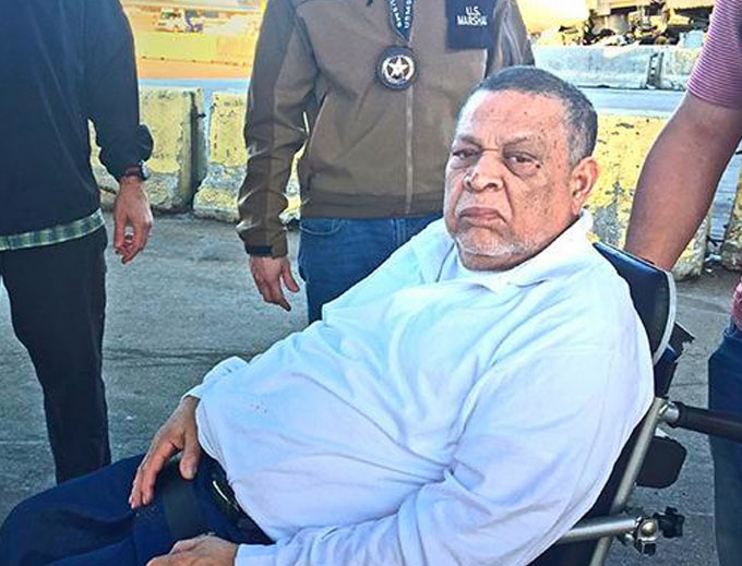 Inocente Orlando Montano, 75, formerly residing in Everett, Massachusetts, a former Salvadoran military official was indicted in Spain for the 1989 murders of five Spanish Jesuit priests during the 10-year Salvadoran civil conflict. Those murders constitute one of the most notorious human rights crimes in El Salvador's history. (Courtesy of ICE)