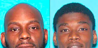 Larry Teague, 44 (at left), and Ramonyea Bishop, 23 should be considered ARMED AND DANGEROUS. DO NOT APPROACH. (Courtesy of the Genesee County Prosecutor's Office)