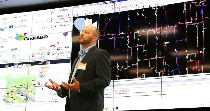 The Grid Modernization Laboratory Consortium (GMLC) was established as a strategic partnership between DOE and the national laboratories to bring together leading experts, technologies, and resources to collaborate on the goal of modernizing the nation's grid.