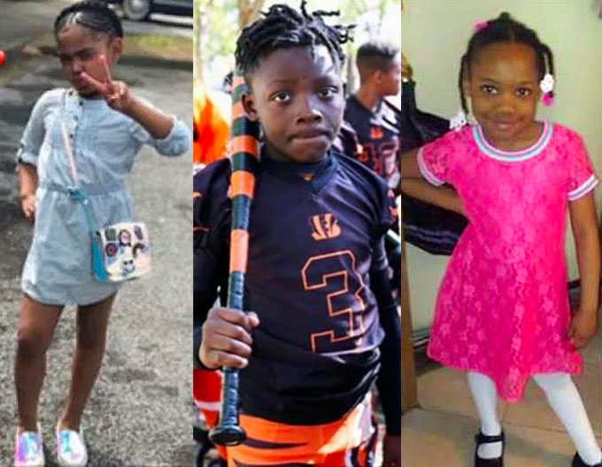 Secoriea Turner, 8; Davon McNeal, 11; and Natalia Wallace, 7; where caught in the crossfire of gunfire and killed in a rash of shootings across the nation over the holiday weekend. (Courtesy of YouTube)