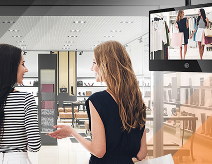 A NEW range of Wisenet Public View Monitors (PVMs), each model being equipped with a built-in SSL connected 2 MP camera – has been introduced by Hanwha Techwin to help retailers deter fraudsters and shoplifters.